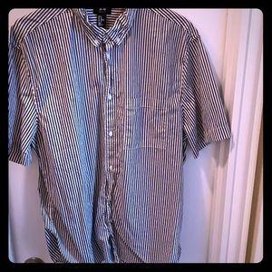 Men's shirt button up